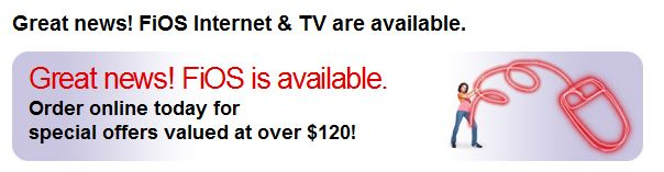 FIOS available