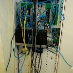 My structured wiring cabinet