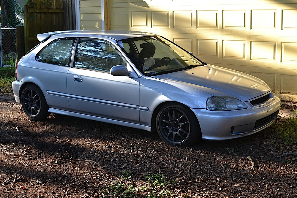 Fs 1997 Ek Honda Civic Hatch 5lug B18c Honda Tech